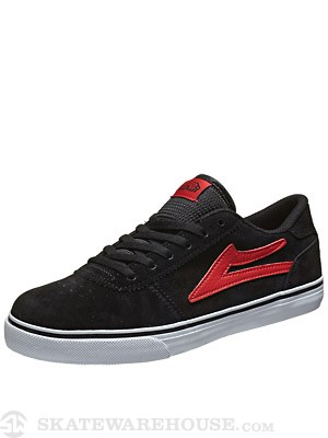 Lakai Kids Manchester Shoes Black/Red