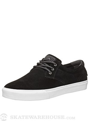 Lakai MJ Shoes  Black Suede