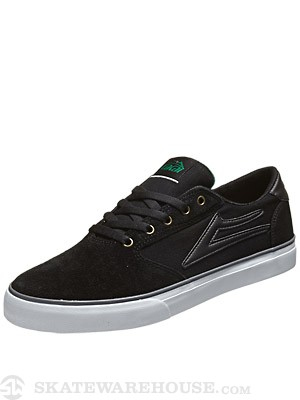 Lakai Pico Shoes  Black/Denim Suede