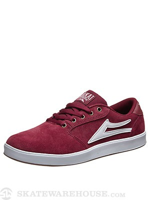 Lakai Pico XLK Shoes  Oxblood Suede