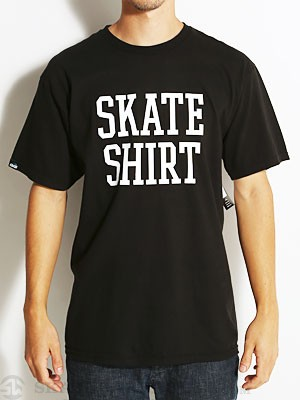 Lakai Skate Shirt Tee Black MD