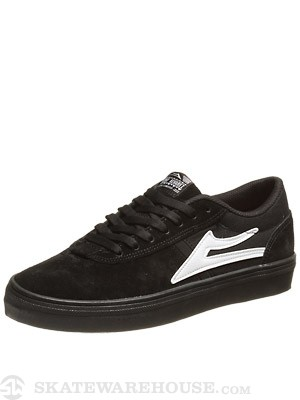 Lakai Vincent Shoes  Black/Black Suede
