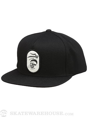 Lakai Whatever Snapback Hat Black Adjust