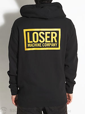 Loser Machine Basic Box Hoodzip Black LG
