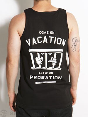 Loser Machine Probation Tank Top Black LG