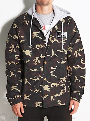 Loser Machine Clyde Custom Jacket Camo LG