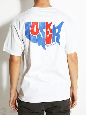 Loser Machine Merican Tee Ash XL