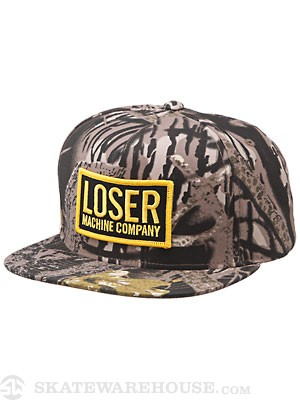 Loser Machine New Original Hat Mossy Oak Adj.
