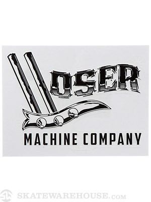 Loser Machine Stirrup Sticker