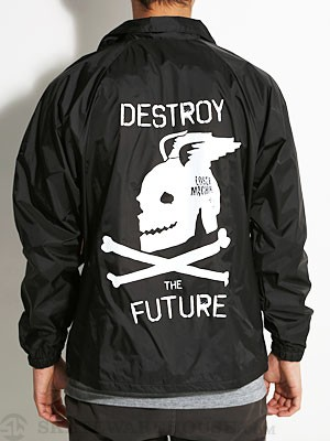 Loser Machine War Pig Coaches Jacket Black MD
