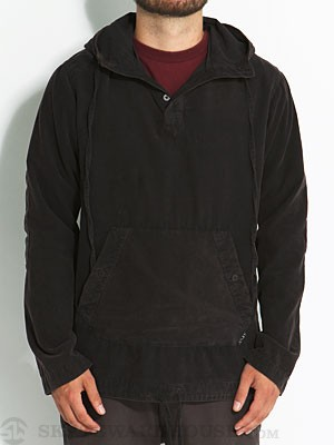Lost Clutch Hooded Woven Shirt Black MD