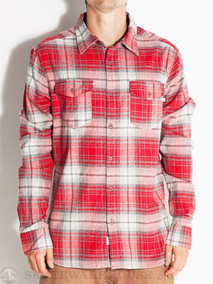 Lost Duffy Flannel Red SM