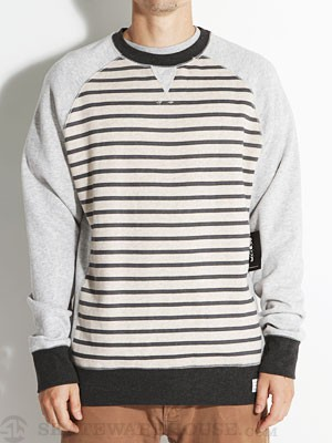 Lost Mullet Crew Sweatshirt Heather Grey SM
