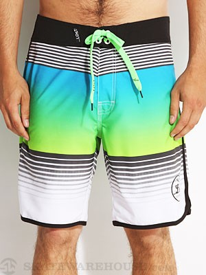Lost Glo Band Stretch Boardshorts Blue 36