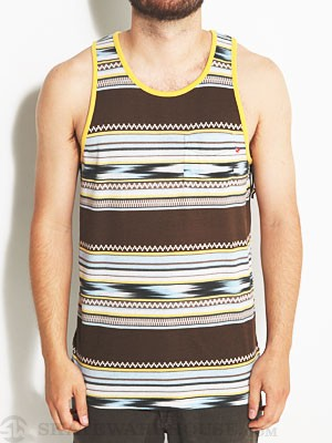 Lost Lotta Guata Tank Brown MD