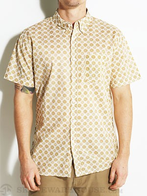 Lost Pocket Change Woven Shirt Gold SM