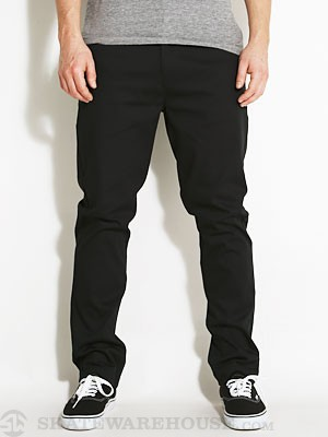 Lost Tough Built Chino Pants Black 32