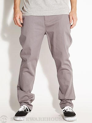 Lost Tough Built Chino Pants Grey 33
