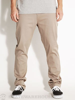 Lost Tough Built Chino Pants Khaki 34
