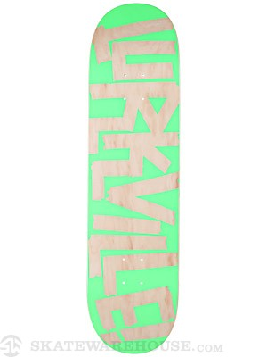 Lurkville Barrio Bargains Green Deck 8.3 x 32.5