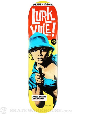 Lurkville Deadly Dame Chrissy Deck 8.375 x 32.5