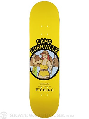 Lurkville Camp Lurkville Fishing Deck 8.25 x 31.9