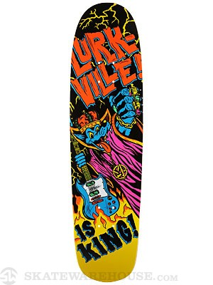 Lurkville Lurk Is King Deck 8.5 x 32.25