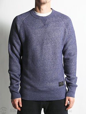 Levi's Crew Neck Fleece Blue Heather MD