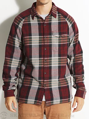 Levi's Skate Manual Shirt Cabernet SM