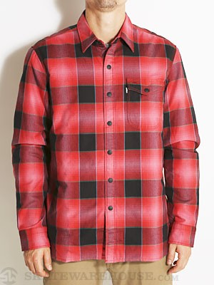 Levi's Quilted Mason Flannel Red Plaid MD