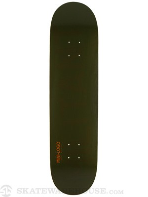 Mini Logo Militant Shape 124 Green Deck 7.5 x 31.375