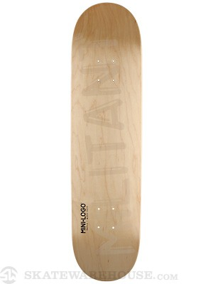 Mini Logo Militant Shape 170 Natural Deck 8.25 x 32.5