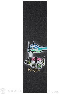 Mouse Dead Fish Hand Sprayed Griptape on Mob