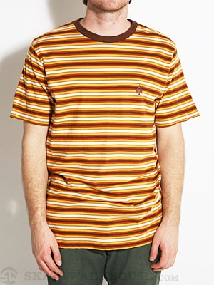Matix Barstow Knit Tee Orange SM