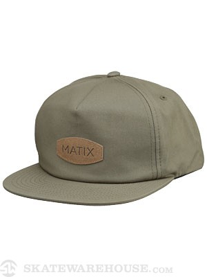 Matix Camp Snapback Hat Army Adjust