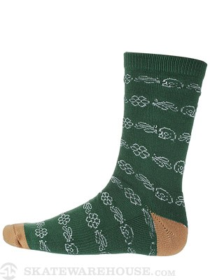 Matix Diggers Socks Hunter Green