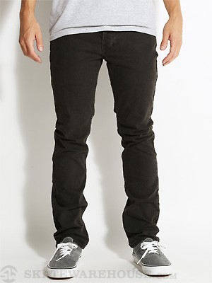 Matix Gripper Slim Straight Jeans Black Ring 30