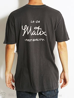 Matix Mechanic Tee Black MD