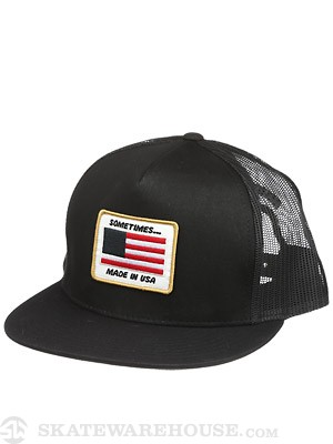Matix Sometimes Trucker Hat Black