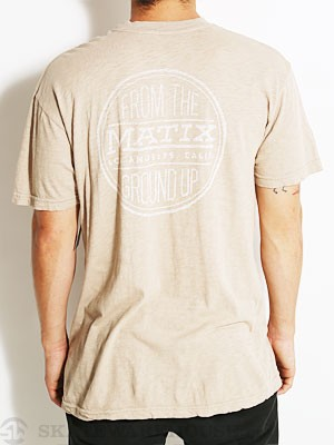 Matix Union Tee Brown MD