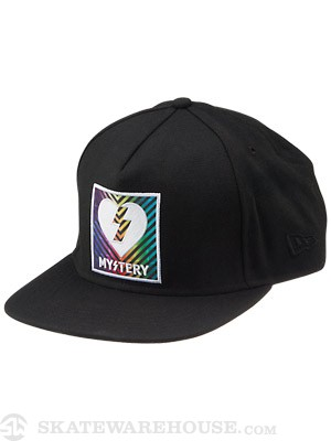 Mystery Color Theory Snapback Black Adj.