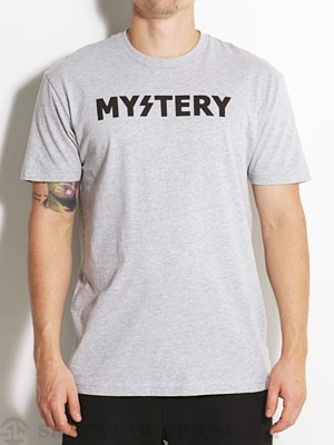 Mystery Logo Tee Heather Grey XL