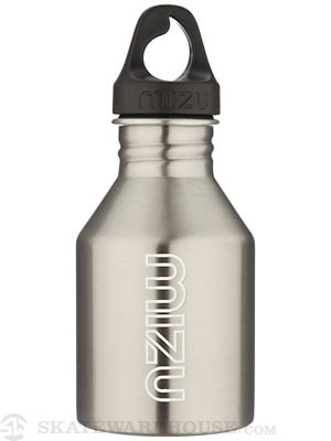 Mizu M4 Water Bottle  Stainless Steel/Glow