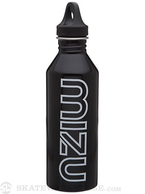 Mizu M8 Water Bottle  Gloss Black/Glow