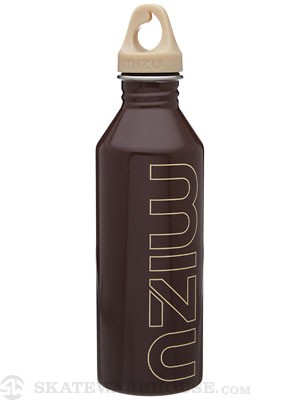 Mizu M8 Water Bottle  Glossy Chocolate