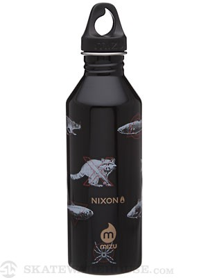 Mizu M8 Nixon Triple S Water Bottle  Black