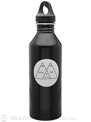 Mizu M8 Poler Nature Man Water Bottle  Black/Glow