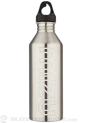 Mizu M8 Water Bottle  Stainless Steel/Glow
