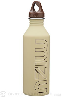 Mizu M8 Stainless Steel Water Bottle  Soft Touch Khaki