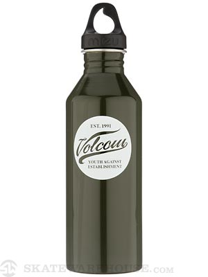 Mizu M8 Volcom Y.A.E. Water Bottle  Gloss Green/Glow